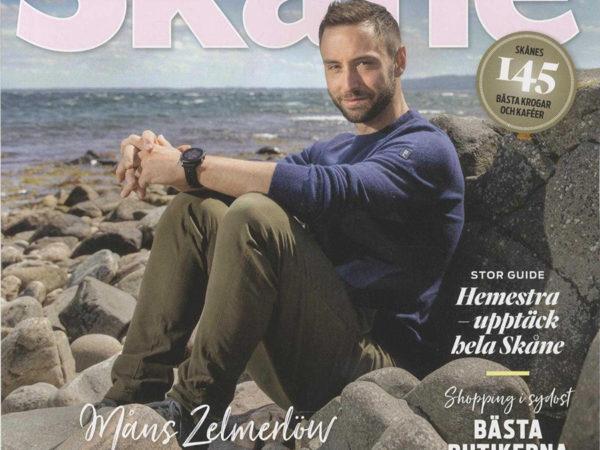 Måns Zelmerlöw for Magasin Skåne